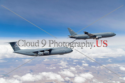 EDWARDS AIR FORCE BASE, Calif. (April 29, 2019) KC-46 out of EDW makes first-ever contact with C-5 Galaxy out of Travis Air Force Base. (U.S. Air Force photo by Christian Turner)