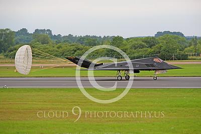CHUTE 00105 Lockheed F-117 Nighthawk AF84825 USAF by Peter J Mancus