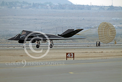 CHUTE 00033 Lockheed F-117 Nighthawk Nov 2003 by Peter J Mancus
