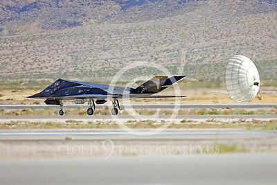 CHUTE 00060 Lockheed F-117 Nighthawk by Peter J Mancus