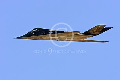 F-117 00014 Lockheed F-117 Nighthawk USAF by Peter J Mancus