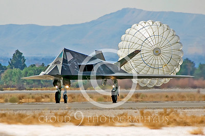 CHUTE 00108 Lockheed Martin F-117 Nighthawk by Peter J Mancus