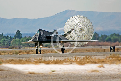 CHUTE 00071 Lockheed F-117 Nighthawk USAF by Peter J Mancus
