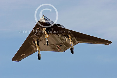 F-117 00008 Lockheed F-117 Nighthawk USAF by Peter J Mancus