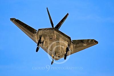 F-117 00006 Lockheed F-117 Nighthawk USAF by Peter J Mancus