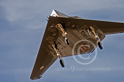 F-117 00010 Lockheed F-117 Nighthawk USAF by Peter J Mancus
