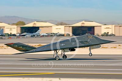 F-117 00003 Lockheed F-117 Nighthawk USAF by Peter J Mancus