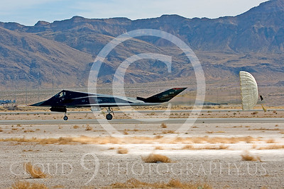 CHUTE 00070 Lockheed F-117 Nighthawk USAF by Peter J Mancus
