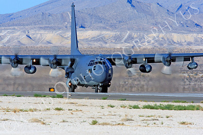 MC-130H 00005 Lockheed MC-130H Hercules Combat Talon USAF 80264 Nellis AFB by Peter J Mancus