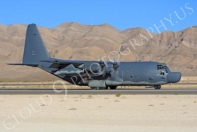 MC-130H 00007 Lockheed MC-130H Hercules Combat Talon USAF 80264 Nellis AFB by Peter J Mancus