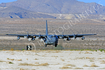 MC-130H 00004 Lockheed MC-130H Hercules Combat Talon USAF 80264 Nellis AFB by Peter J Mancus
