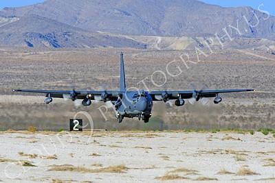 MC-130H 00004 Lockheed MC-130H Hercules Combat Talon USAF 80264 Nellis AFB by Peter J Mancus