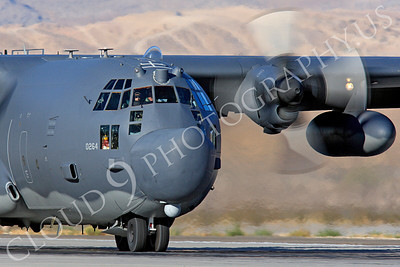 MC-130H 00057 Lockheed MC-130H Hercules Combat Talon USAF 80264 Nellis AFB by Peter J Mancus