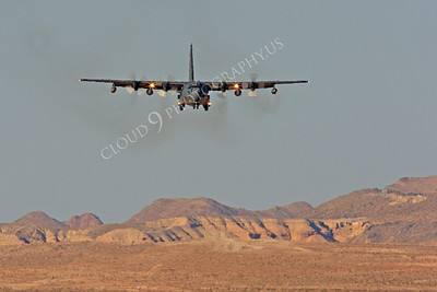 MC-130H 00058 Lockheed MC-130H Hercules Combat Talon USAF 80264 Nellis AFB by Peter J Mancus