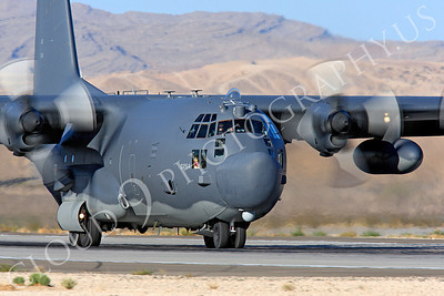 MC-130H 00009 Lockheed MC-130H Hercules Combat Talon USAF 80264 Nellis AFB by Peter J Mancus