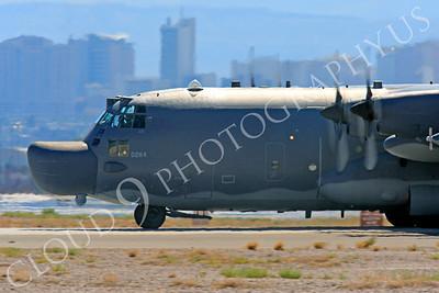 MC-130H 00013 Lockheed MC-130H Hercules Combat Talon USAF 80264 Nellis AFB by Peter J Mancus
