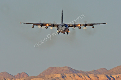 MC-130H 00066 Lockheed MC-130H Hercules Combat Talon USAF 80264 Nellis AFB by Peter J Mancus
