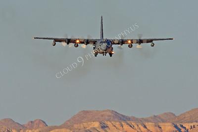 MC-130H 00066 Lockheed MC-130H Hercules Combat Talon USAF 80264 Nellis AFB by Peter J Mancus
