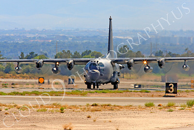 MC-130H 00053 Lockheed MC-130H Hercules Combat Talon USAF 80264 Nellis AFB by Peter J Mancus