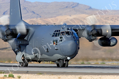 MC-130H 00033 Lockheed MC-130H Hercules Combat Talon USAF 80264 Nellis AFB by Peter J Mancus