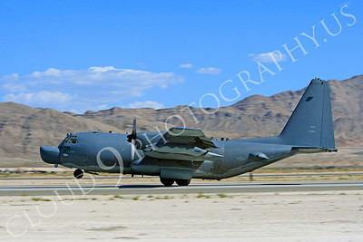 MC-130H 00035 Lockheed MC-130H Hercules Combat Talon USAF 80264 Nellis AFB by Peter J Mancus