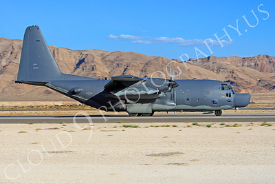 MC-130H 00011 Lockheed MC-130H Hercules Combat Talon USAF 80264 Nellis AFB by Peter J Mancus