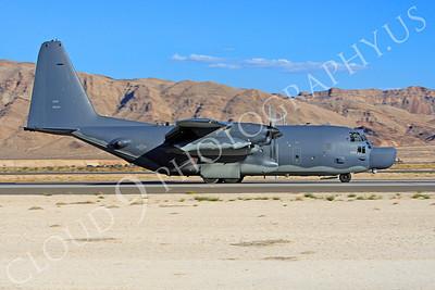 MC-130H 00011 Lockheed MC-130H Hercules Combat Talon USAF 80264 Nellis AFB by Peter J Mancus