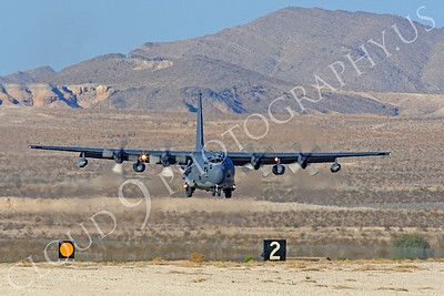 MC-130H 00056 Lockheed MC-130H Hercules Combat Talon USAF 80264 Nellis AFB by Peter J Mancus