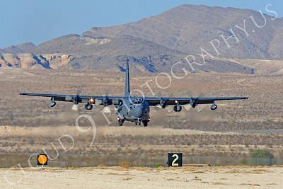 MC-130H 00056 Lockheed MC-130H Hercules Combat Talon USAF 80264 Nellis AFB by Peter J Mancus