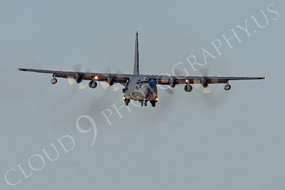 MC-130H 00006 Lockheed MC-130H Hercules Combat Talon USAF 80264 Nellis AFB by Peter J Mancus