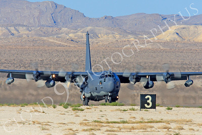 MC-130H 00036 Lockheed MC-130H Hercules Combat Talon USAF 80264 Nellis AFB by Peter J Mancus