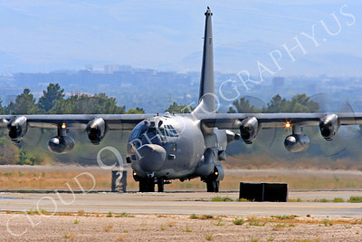 MC-130H 00039 Lockheed MC-130H Hercules Combat Talon USAF 80264 Nellis AFB by Peter J Mancus