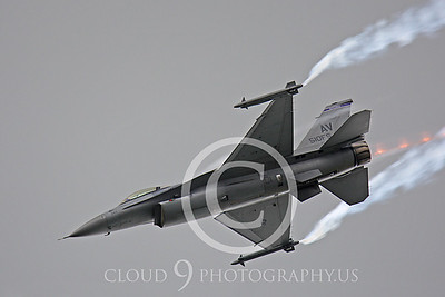 AB-F-16USAF 00050 Lockheed Martin F-16 Fighting Falcon by Peter J Mancus