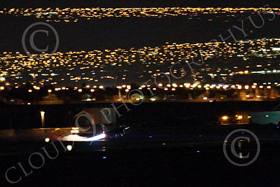 AB - F-16USAF 00025 Lockheed Martin F-16 Fighting Falcon USAF in afterburner at night by Peter J Mancus