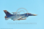 AGGR-F-16 0002 A flying Lockheed Martin F-16 Fighting Falcon Viper USAF Aggressor jet fighter 87321 WA code with Soviet style red stars 7-2017 military airplane picture by Peter J  Mancus    ...