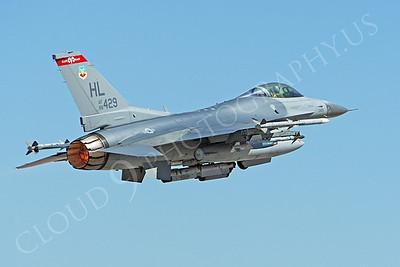 AB-F-16USAF 00068 Lockheed Martin F-16 USAF 88429 Nellis AFB by Peter J Mancus