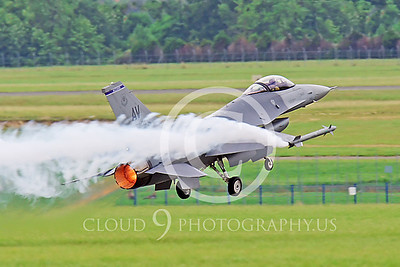 AB-F-16USAF 00052 Lockheed Martin F-16 Fighting Falcon by Peter J Mancus