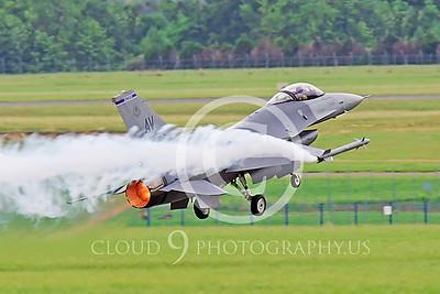 AB-F-16USAF 00052 Lockheed Martin F-16 Fighting Falcon by Peter J Mancus
