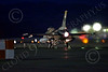 AB-F-16USAF 00203 An USAF Aggressor Lockheed F-16 Viper jet fighter in afterburner at night at Nellis AFB 7-2014 military airplane picture by Peter J Mancus