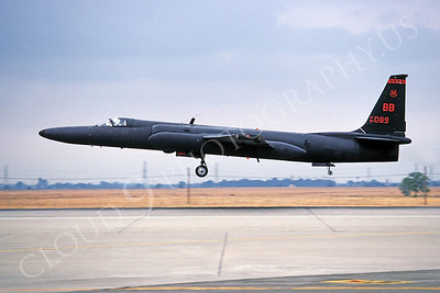 U-2S 00012 Lockheed U-2S Dragon Lady USAF 80089 February 1994 by Peter J Mancus