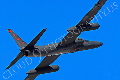 U-2S 00044 Lockheed U-2S Dragon Lady USAF 80083 spy plane, by Peter J Mancus