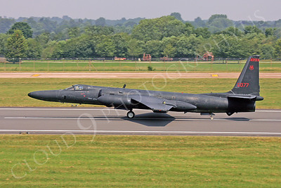 U-2S 00001 Lockheed U-2S Dragon Lady USAF 80077 by Paul Ridgway