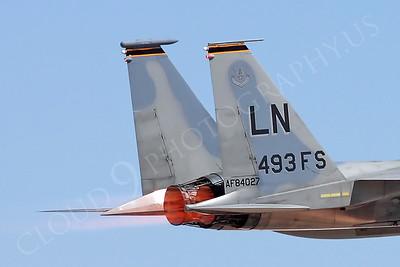 AB-F-15USAF 00026 McDonnell Douglas F-15 Eagle 84027 493 FS by Carl E Porter