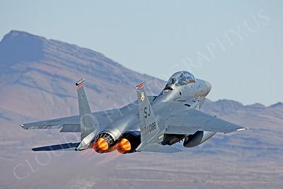 AB-F-15USAF 00032 McDonnell Douglas F-15E Strike Eagle USAF 870188 by Peter J Mancus