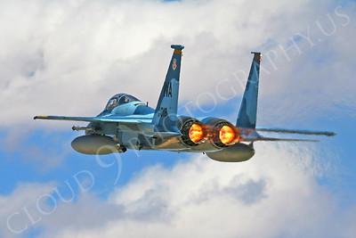 AB - F-15USAF 00086 McDonnell Douglas F-15 Eagle USAF AGGRESSOR 80018 by Tim P Wagenknecht