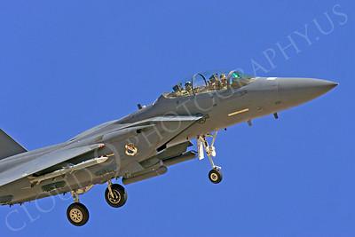 CUNMJ 00306 McDonnell Douglas F-15E Strike Eagle USAF by Peter J Mancus