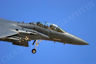 CUNMJ 00336 McDonnell Douglas F-15E Strike Eagle USAF by Peter J Mancus