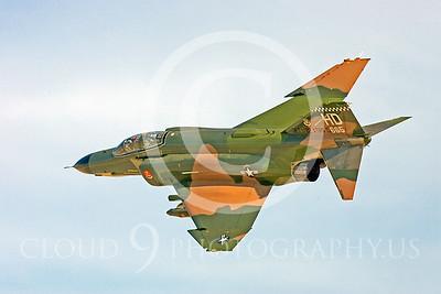 D 00002 McDonnell Douglas QF-4E Phantom II USAF by Peter J Mancus