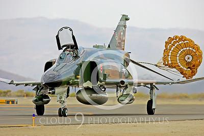 CHUTE 00086 McDonnell Douglas QF-4E Phantom II USAF by Peter J Mancus