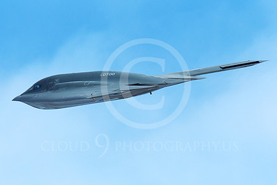 B-2 00206 A flying Northrop B-2 Spirit USAF stealth jet bomber military airplane picture by Peter J Mancus